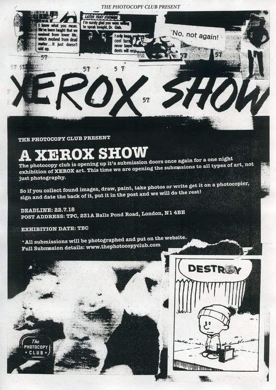 A XEROX        SHOW